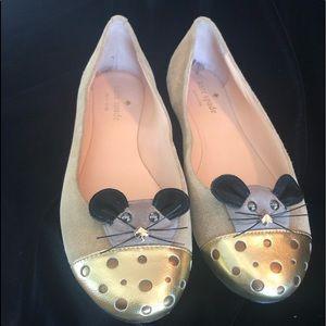 Kate Spade Walt Mouse Ballet Flats